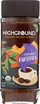 Highground Organic Instant Regular Coffee