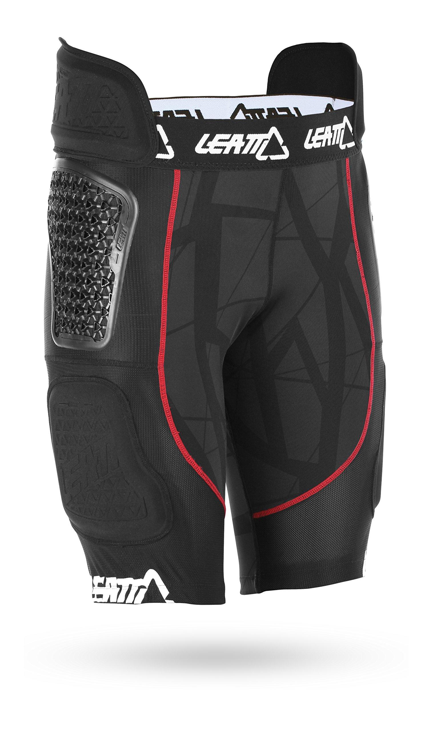 Leatt 5016000205 GPX 5.5 AirFlex Impact Shorts (Black, XX-Large)