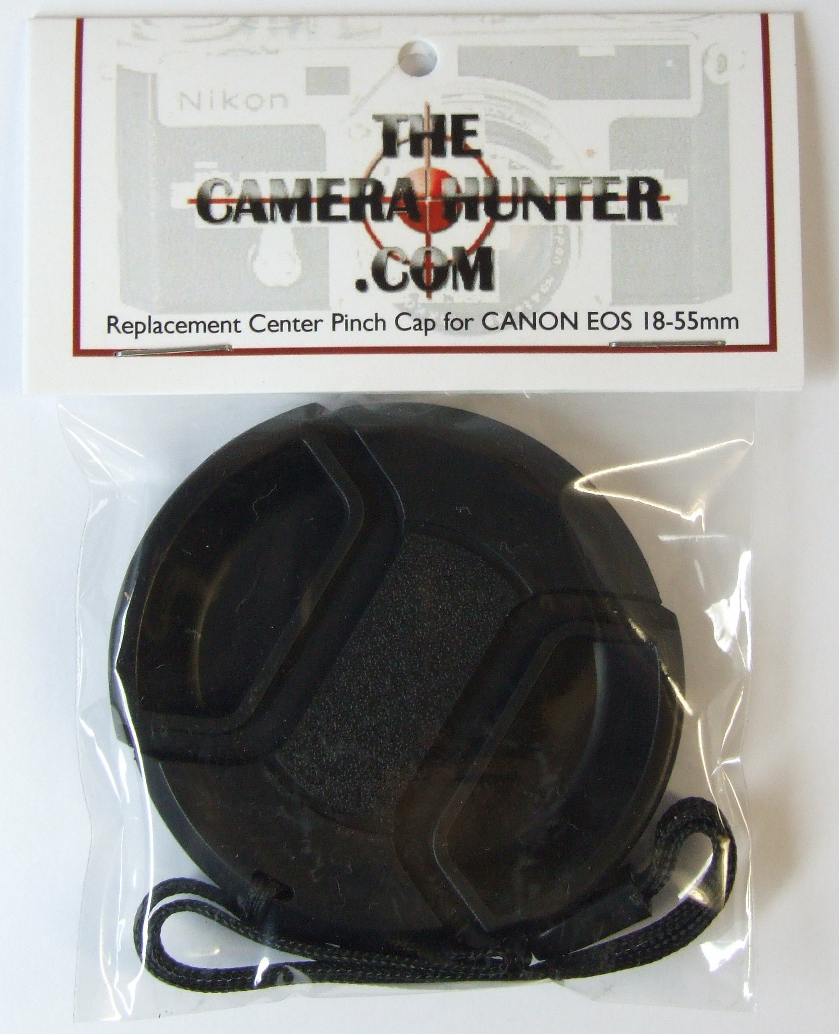 Lens Cap for CANON EOS EF 18-55mm Digital Rebel Camera Lens - Replacement by The Camera Hunter