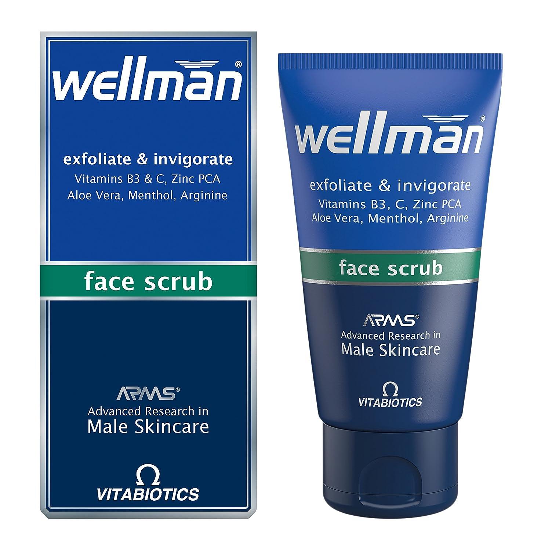 Vitabiotics Wellman Face Scrub - 75 ml VITABIOTICS LTD 797142855437