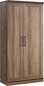 Sauder HomePlus Storage Cabinet, Salt Oak finish