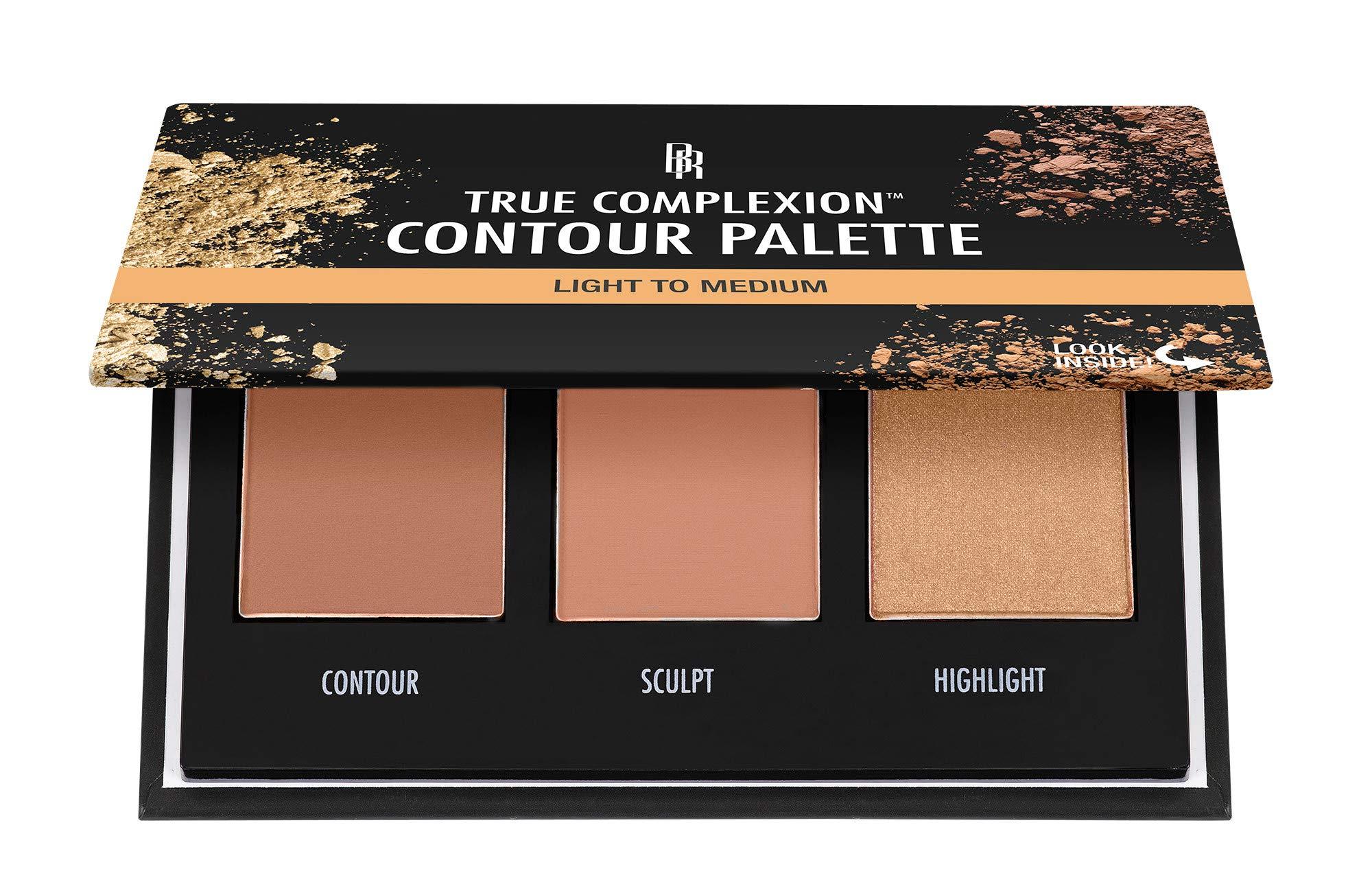 Black Radiance True Complexion Contour Palette, Light to Medium, 0.38 Ounce