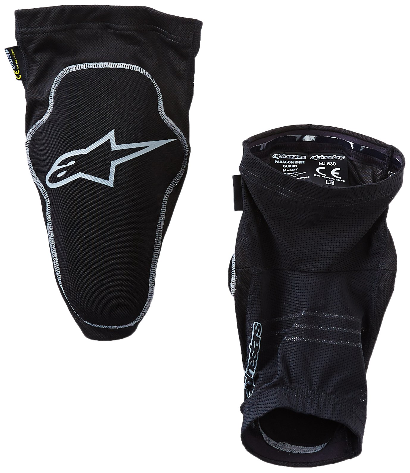 Alpinestars Paragon Knee Guard, Black, Large by Alpinestars