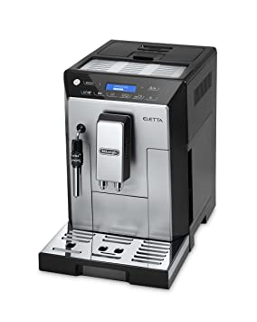 DeLonghi Eletta Plus Independiente Semi-automática Máquina espresso Acero inoxidable - Cafetera (Independiente, Máquina espresso, Granos de café, ...
