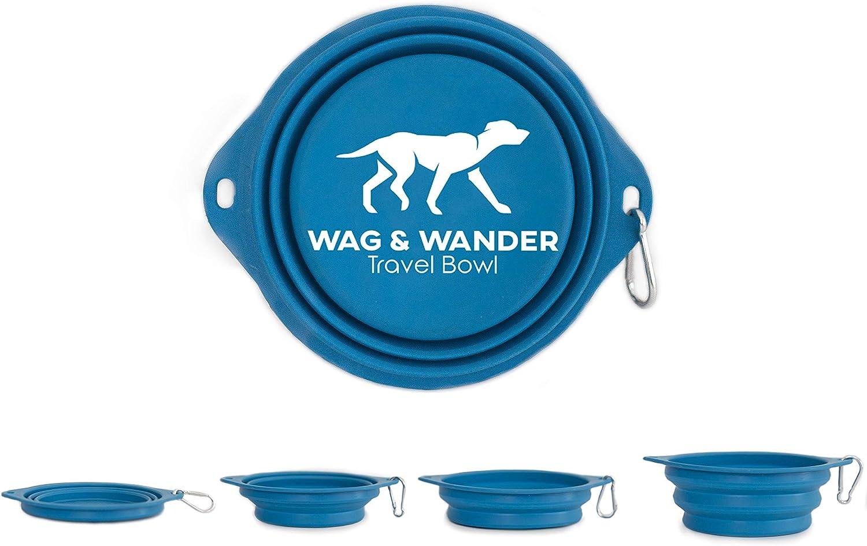 Wag & Wander Collapsible Dog Bowl - 850ml