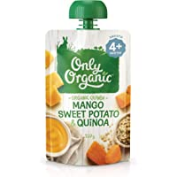 Only Organic Mango Sweet Potato & Quinoa 4+ Months - 120g