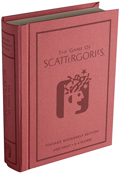 Winning Solutions Scattergories Linen Book Vintage Edition Board Games