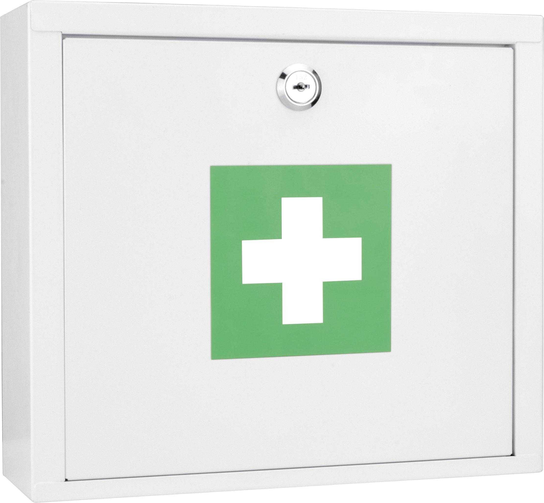 Winbest Wall Mount Steel Medical Medicine Cabinet