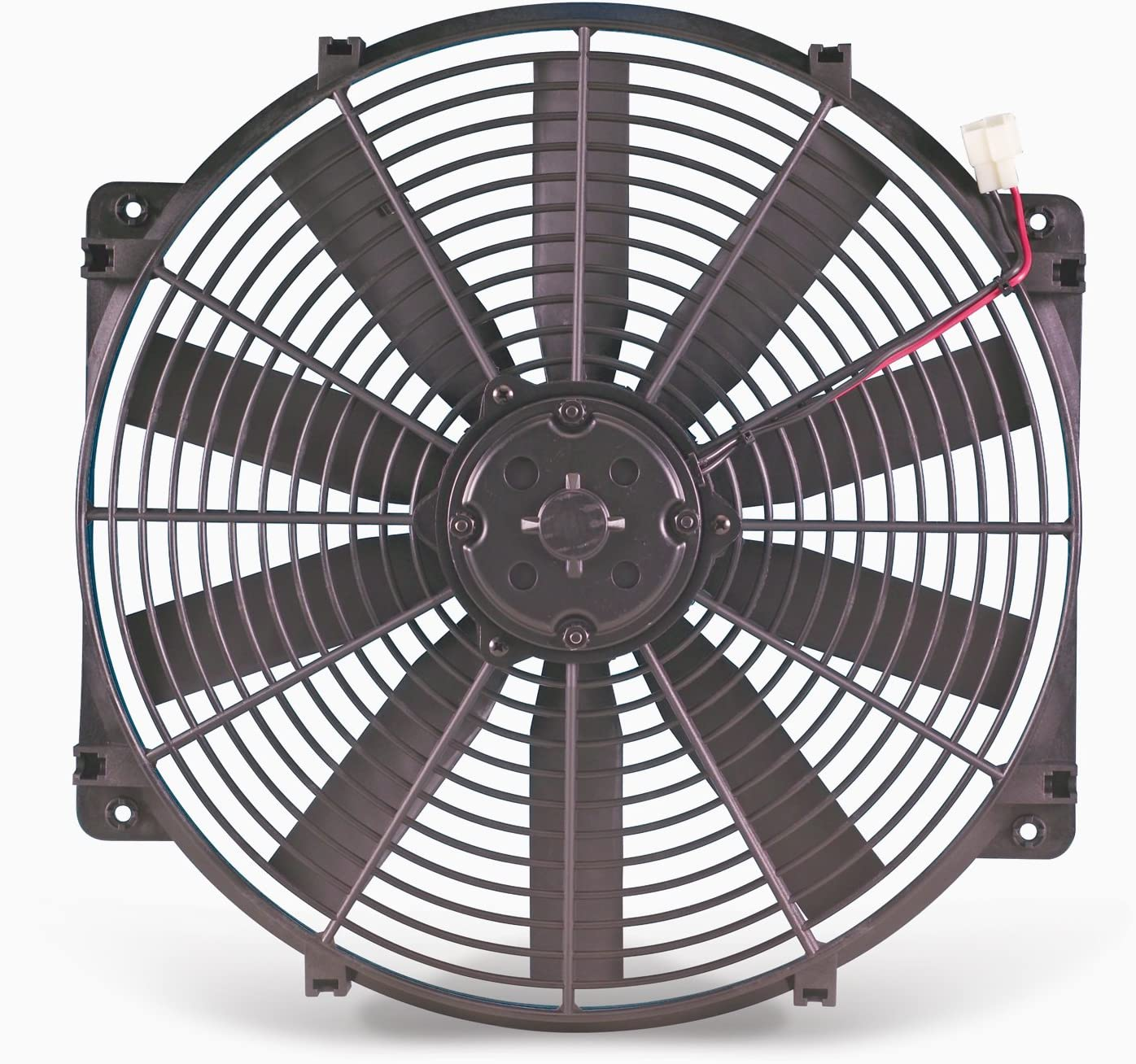"Flex-a-lite 119 Black 16"" LoBoy Electric Fan (pusher)"