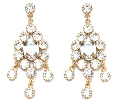 Image Unavailable. Image not available for. Color  Swarovski Crystal Drop  Earrings ... 4c9bb90529de