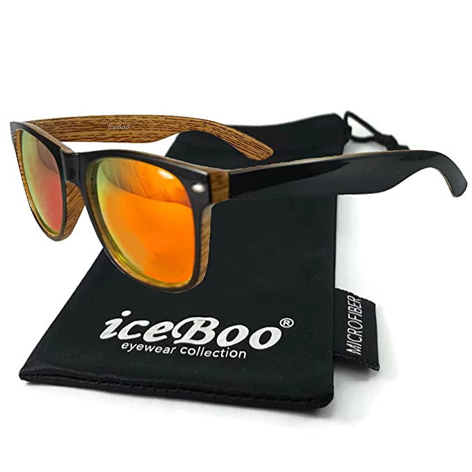 iceBoo - Lunettes de soleil - Homme - orange - 7hc04Tu
