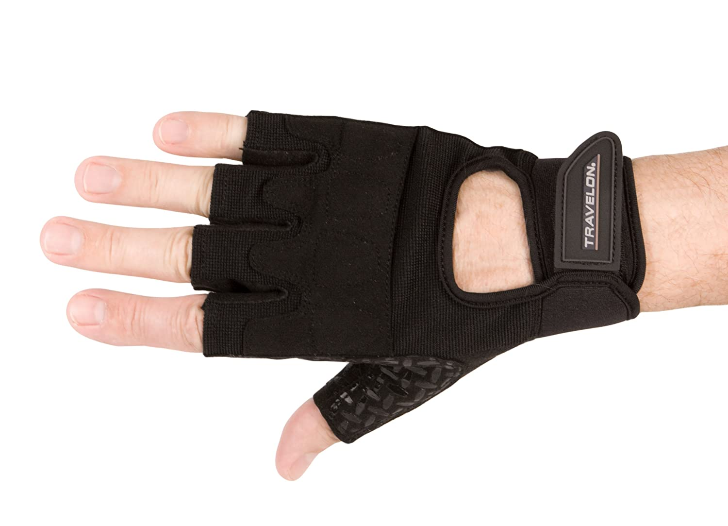 Travelon Adjustable Wrist All Purpose Gloves, Black, X-Large   B005D1MIWY