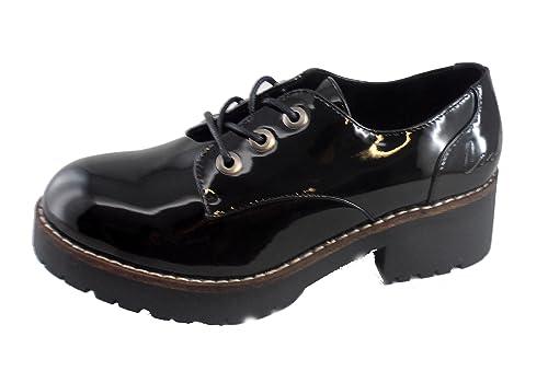 Coolway - Zapatillas para mujer negro negro, color negro, talla 39