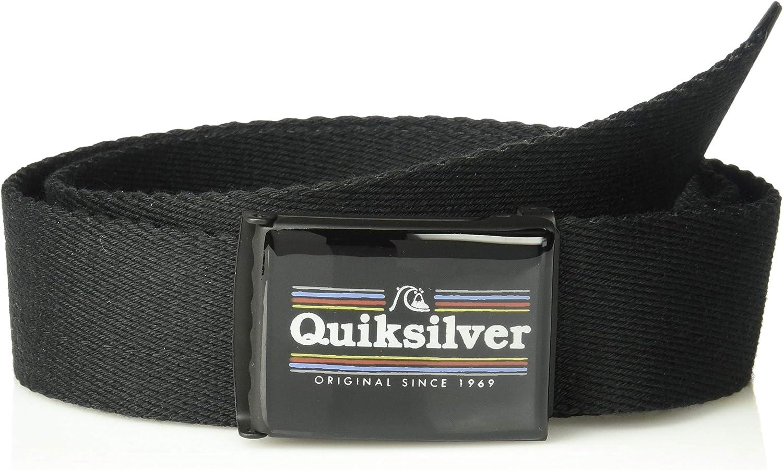 1SZ black Quiksilver Boys Big IMABUCKLE Youth Belt