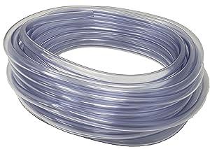 Rollerflex Food Grade Crystal Clear Vinyl Tubing, 3/8-Inch ID x 1/2-Inch OD, 50-FT