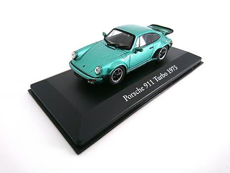 Porsche 911 Turbo 1975 1:43 - LES VOITURES MYTHIQUES de DOMINIQUE CHAPATTE - DIECAST: Amazon.es: Juguetes y juegos