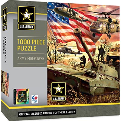 US Army - Army Firepower - 1000 Piece Jigsaw Puzzle: Kitchen & Dining
