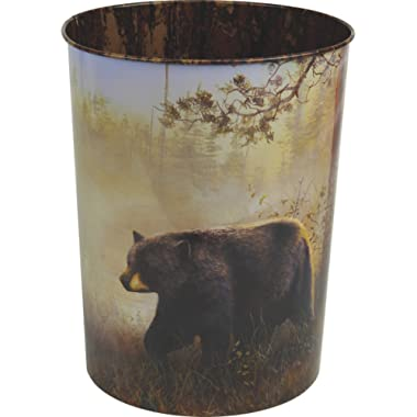 River's Edge Products Bear Waste Basket