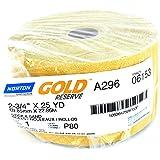 "Norton 6153 Gold Reserve PSA Sheet Rolls 2-3/4"" X 25 YDS (80 Grit)"