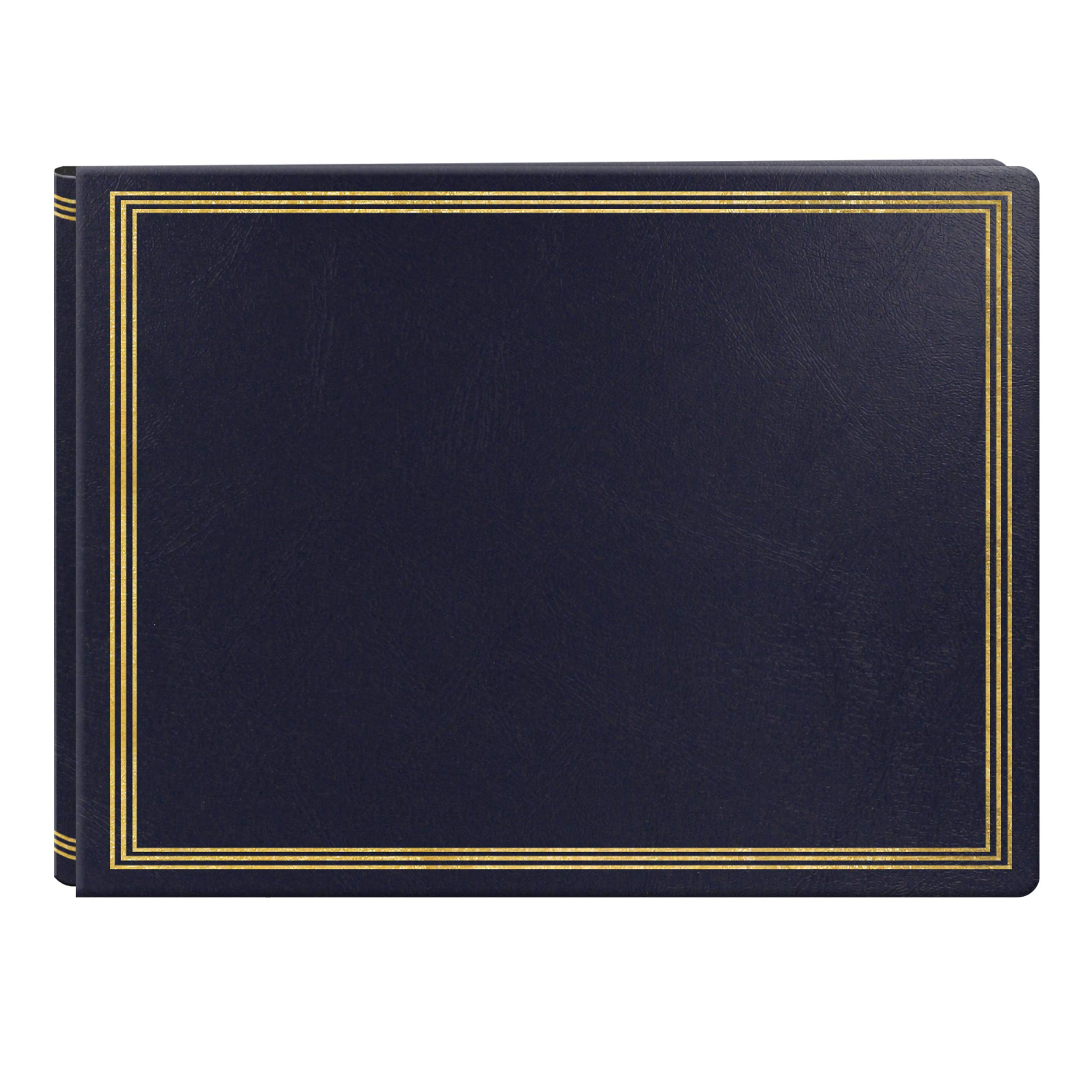Extra Large Magnetic Page X-Pando Photo Album, Navy Blue by Pioneer Photo Albums