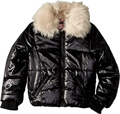 8947e9cf3 Amazon.com  Urban Republic Kids Womens Emma Puffer Jacket w Cream ...