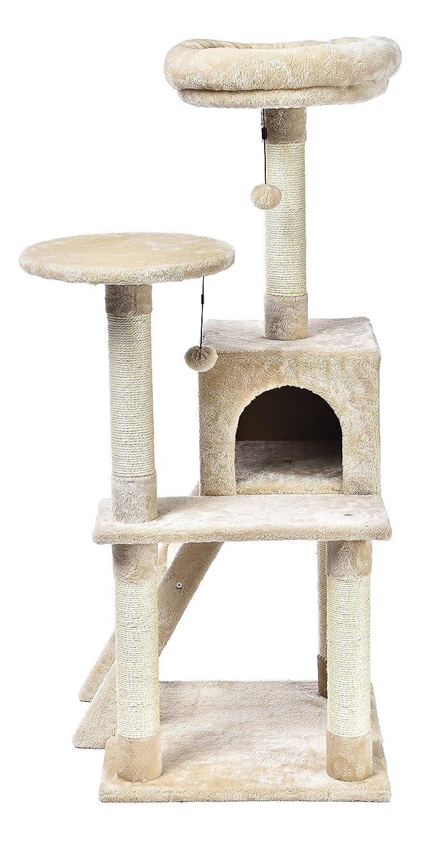 Amazon.com: AmazonBasics - Árbol para gatos con plataforma ...