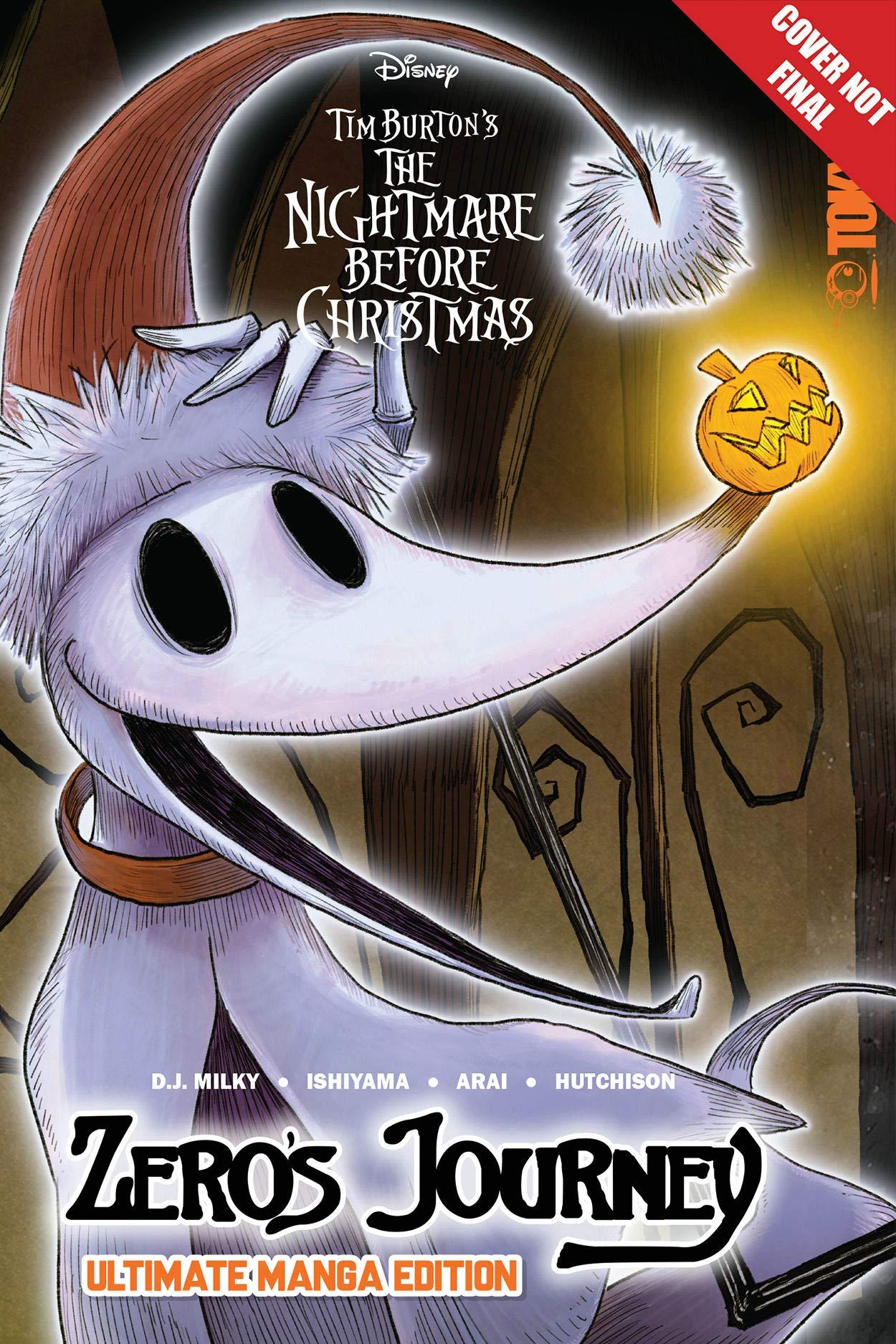 The Nightmare Before Christmas Manga 2020 Disney Manga: Tim Burton's The Nightmare Before Christmas   Zero's