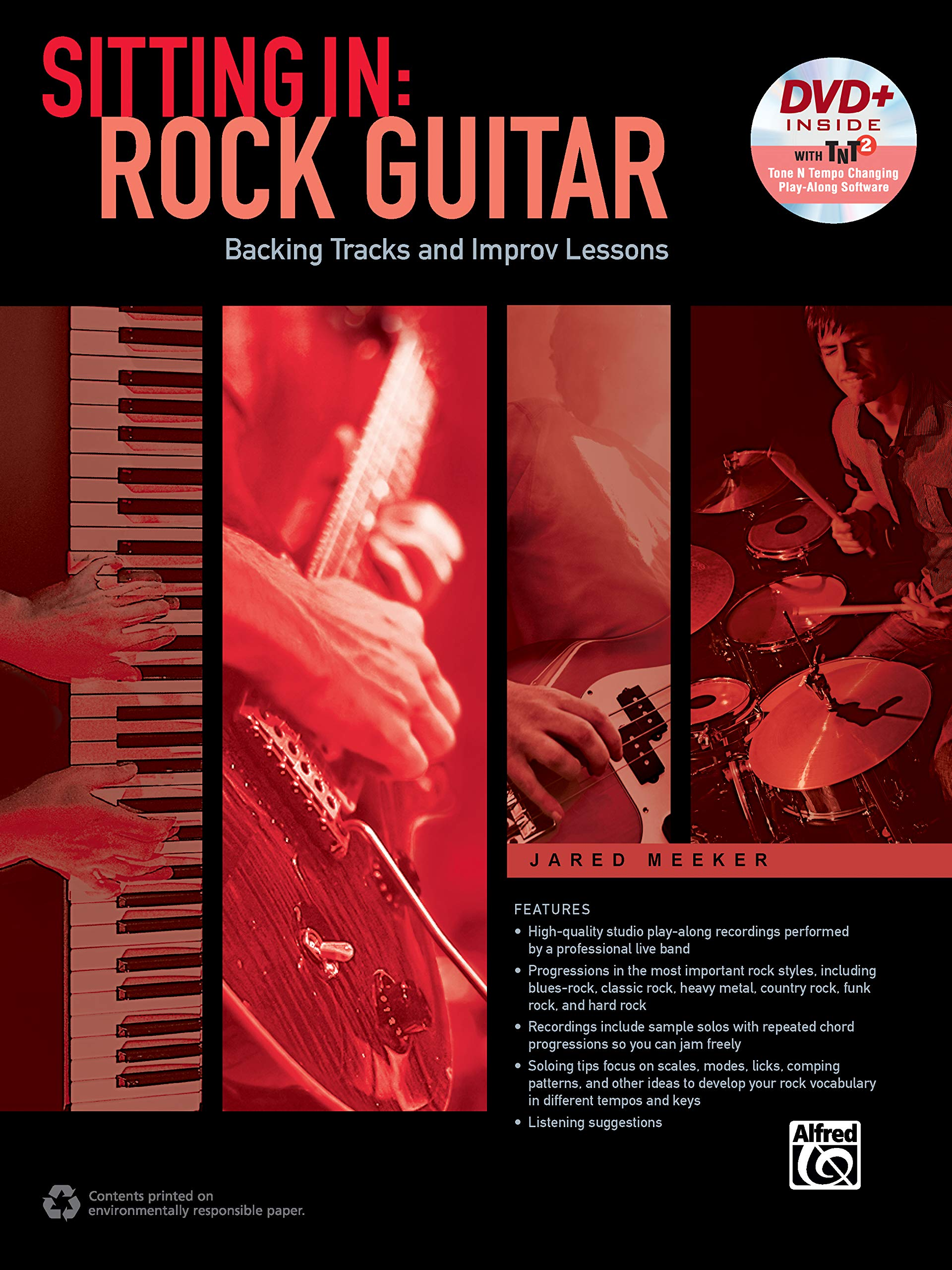 Sitting in -- Rock Guitar: Backing Tracks and Improv Lessons, Book ...