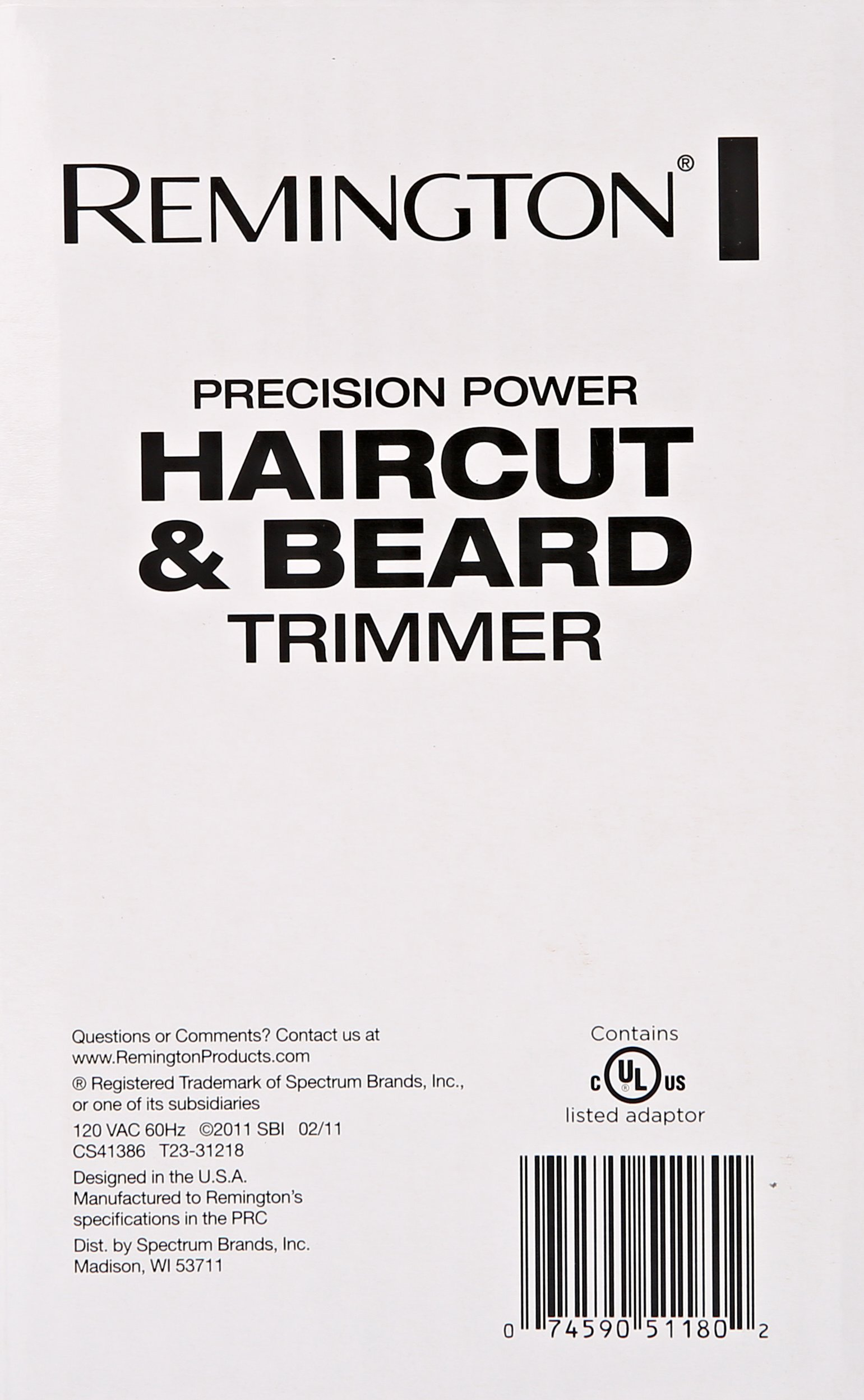 Remington HC5550AM Precision Power Haircut & Beard Trimmer, Hair Clippers, Beard Trimmer, Clippers by Remington (Image #6)