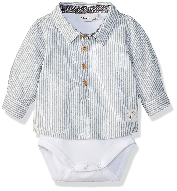 NAME IT Baby-Jungen Nbmsander Ls Shirt Body Spieler