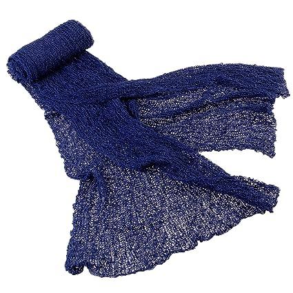 Oulii - Manta envolvente rizada de gran tamaño para recién nacidos y bebés, ideal para sesiones fotográficas, de color azul marino: Amazon.es: Bricolaje y ...