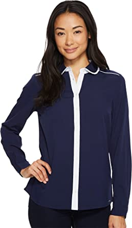 U.S. Polo Assn. para Mujer Long Sleeve Fashion Shirt Manga Larga ...