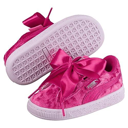 Puma Basket Velour Shoe: : Sports et Loisirs
