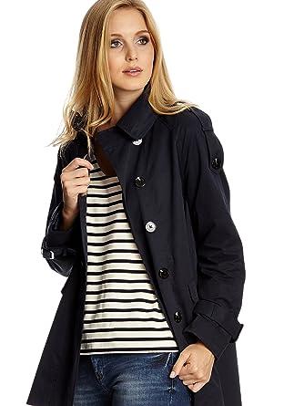 Mexx Damen Mantel Outerwear Blau (Sky Captain