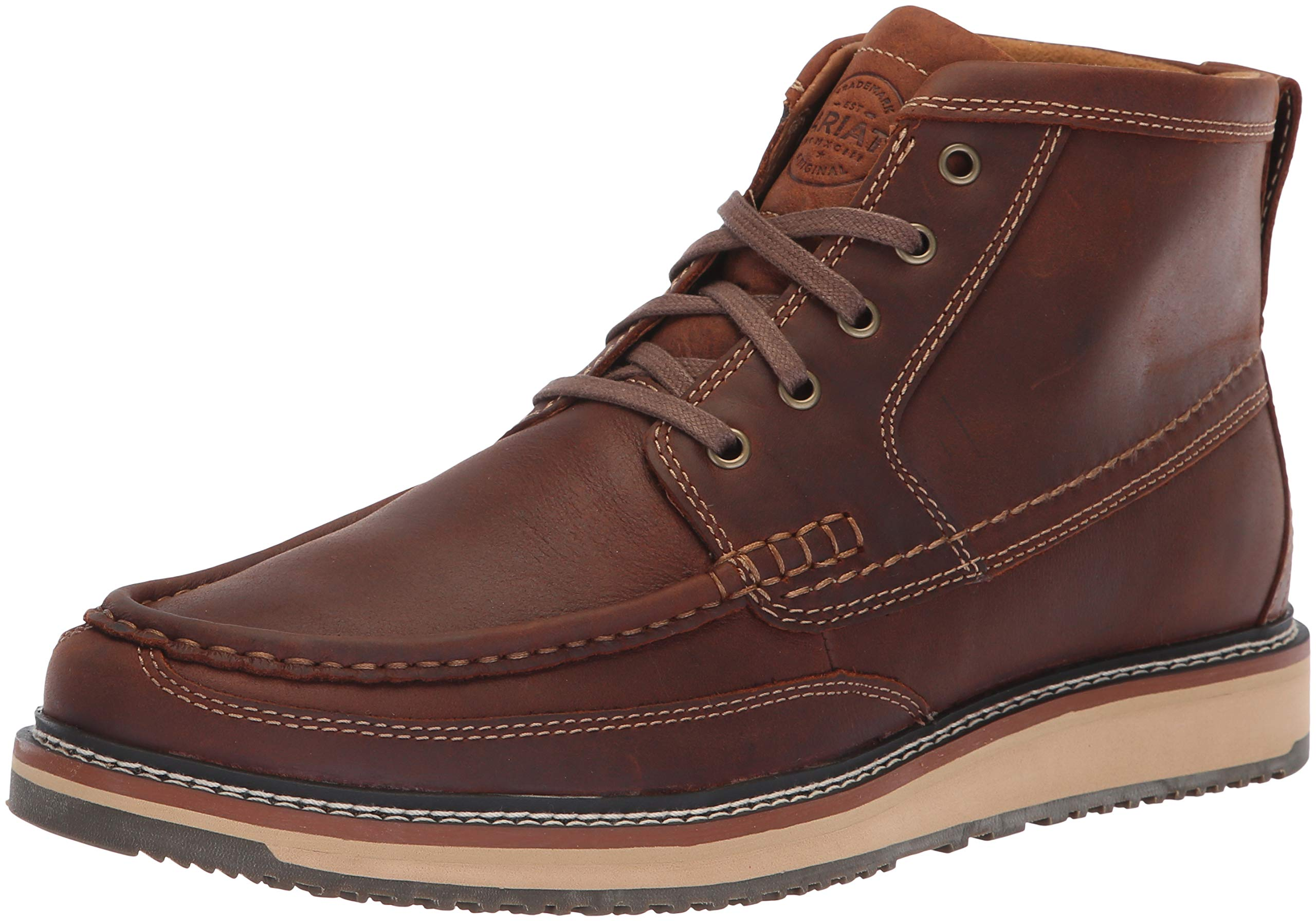 Ariat Men's Lookout Western Boot, Foothill Brown, 11 D US