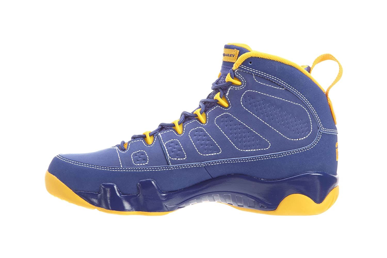 brand new c8728 37e0b Amazon.com   Nike Mens Air Jordan 9 Retro Calvin Bailey Leather Basketball  Shoes   Basketball