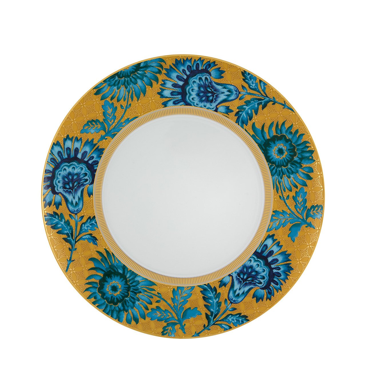 Vista Alegre Porcelain Gold Exotic Charger Plate