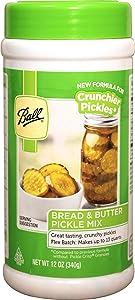 Ball Bread & Butter Pickle Mix - Flex Batch - New! (12.0oz) (by Jarden Home Brands)
