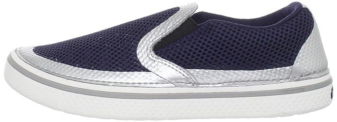 Crocs CrocsWeld Hover Slip On, Sneaker uomo, Blau (nautical navy/silver), 41