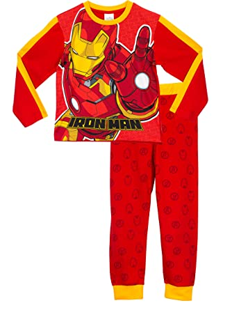 Avengers Boys Iron Man Pajamas Size 6