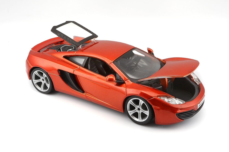 Amazon.com: Bburago 1:24 Scale McLaren MP4 12C Diecast Vehicle (Colors May  Vary): Toys U0026 Games
