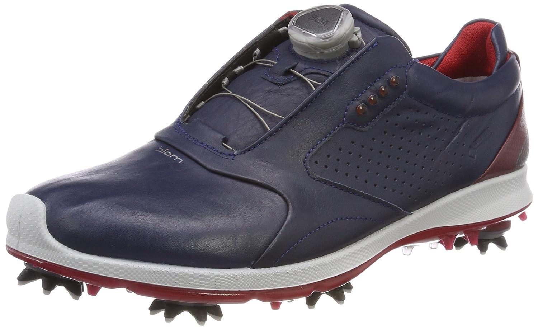ECCO Men's Biom G2 Boa Gore-Tex Golf Shoe B074CVL6GN 47 M EU (13-13.5 US)|True Navy/Brick