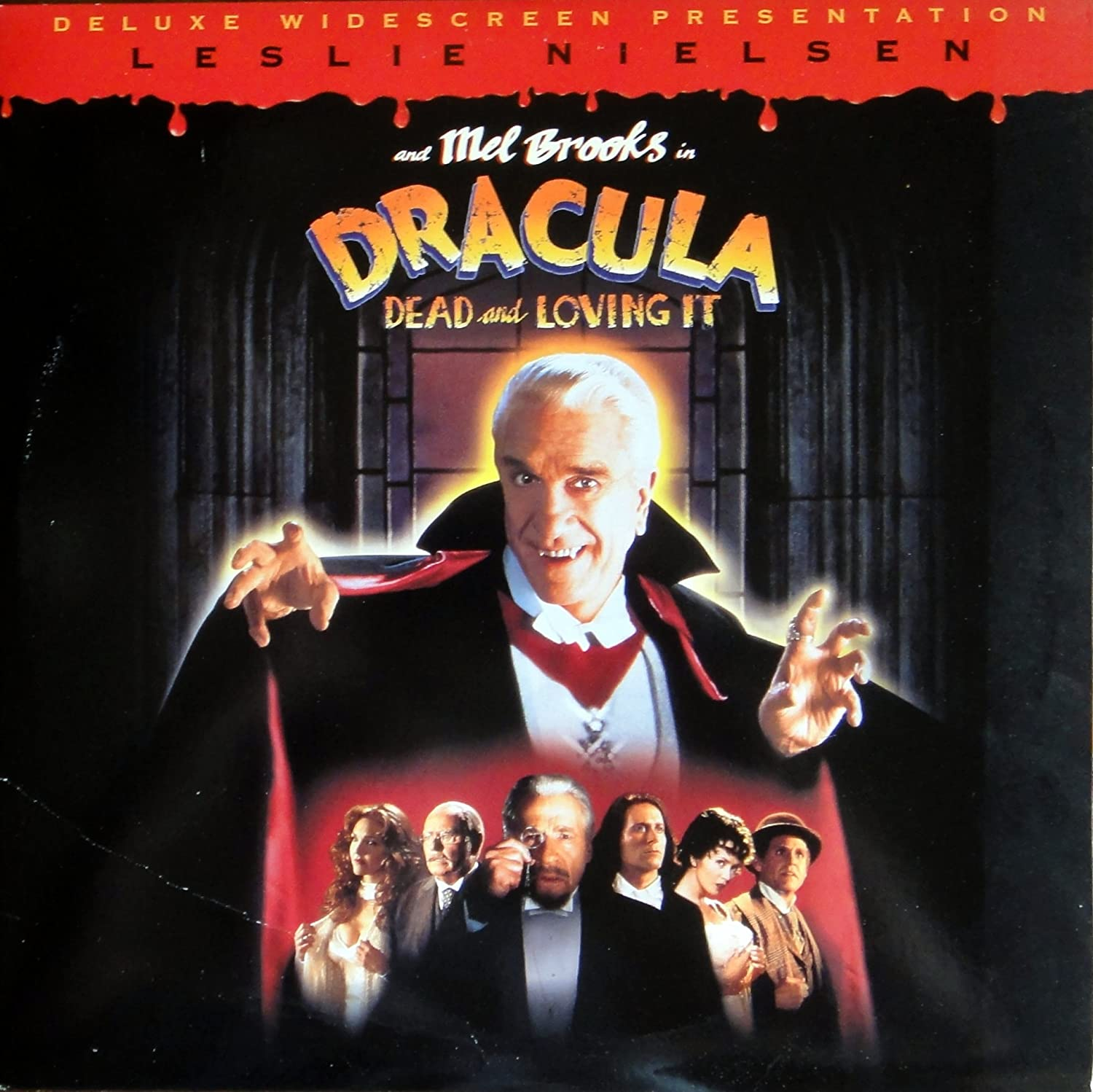 Amazon.com: DRACULA DEAD AND LOVING IT Deluxe Widescreen Presentation  Laserdisc (LD NOT DVD) Leslie Nielsen Mel Brooks: Movies & TV