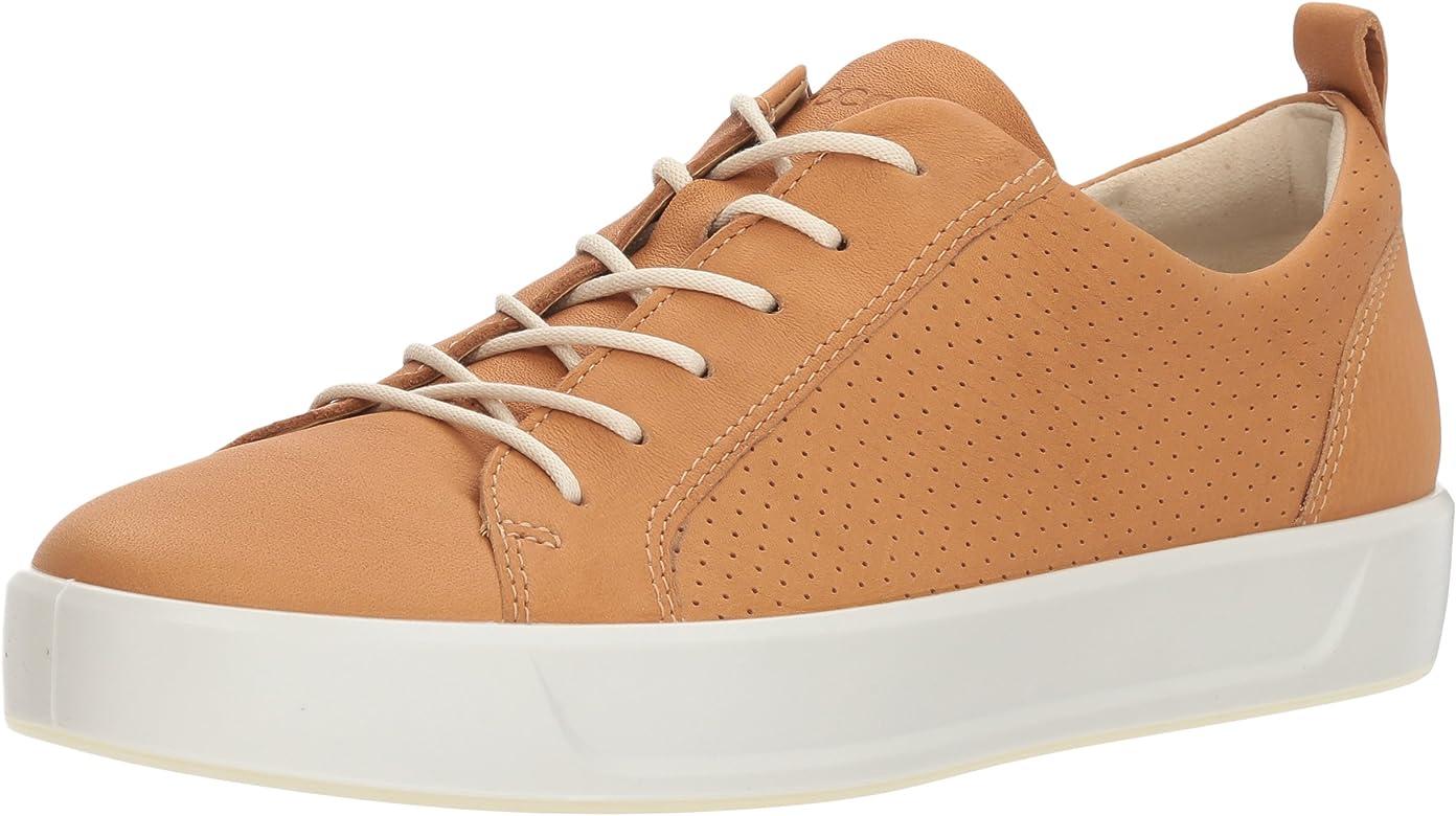 609a570903b62d ECCO Women's Women's Soft 8 Perforated Tie Sneaker, Volluto, 37 M EU (6