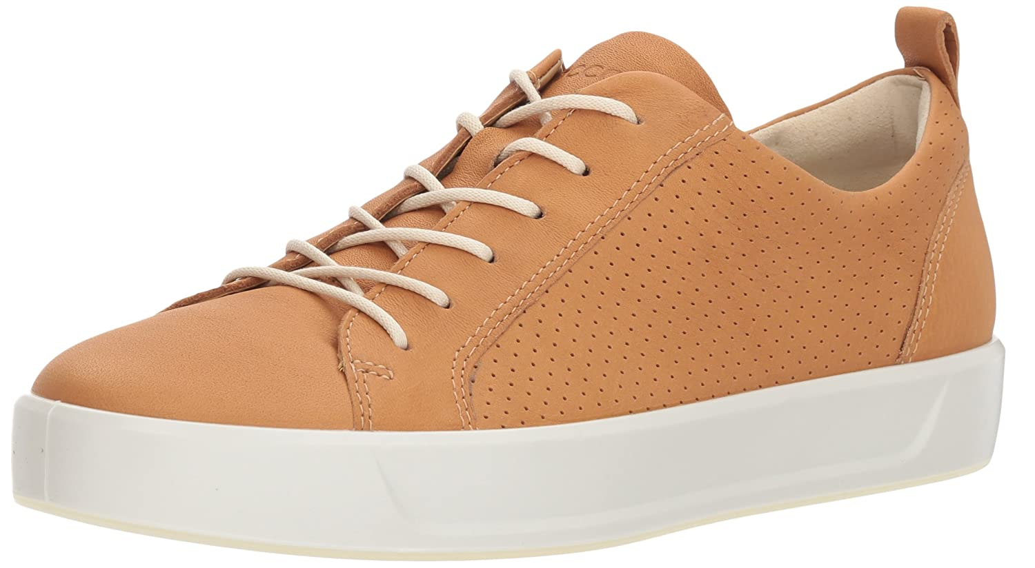 ECCO Women's Soft 8 Perforated Tie Sneaker B074QTP9M7 38 M EU (7-7.5 US)|Volluto