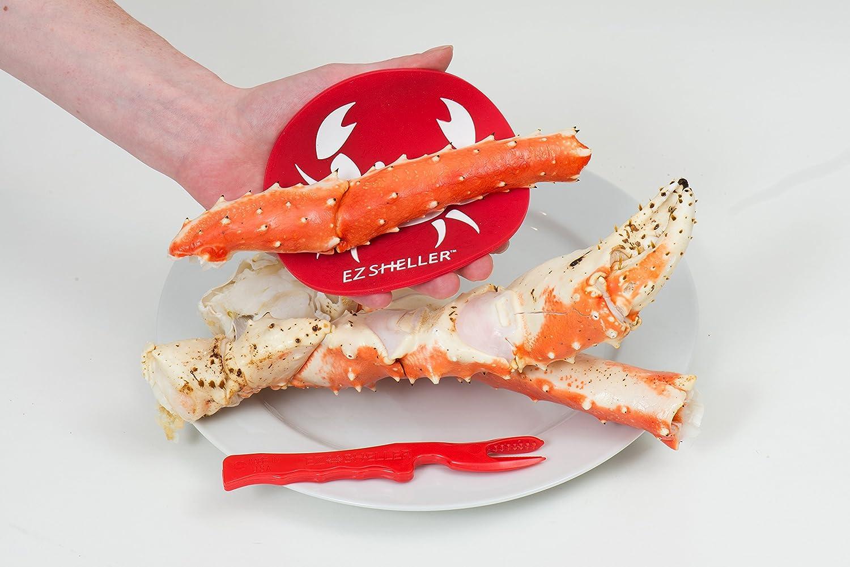 amazon com ez sheller crab leg shellfish party pack for 6