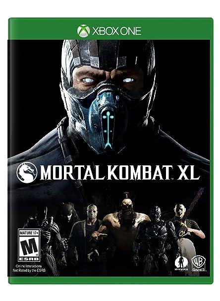 Amazon com: Mortal Kombat XL - Xbox One: Whv Games: Video Games