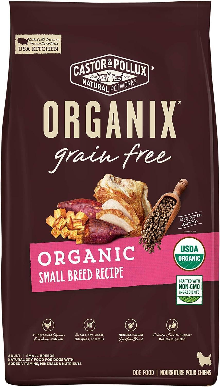 Castor & Pollux Organix Organic Small Breed Dry Dog Food