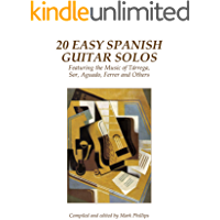 20 Easy Spanish Guitar Solos: Featuring the Music