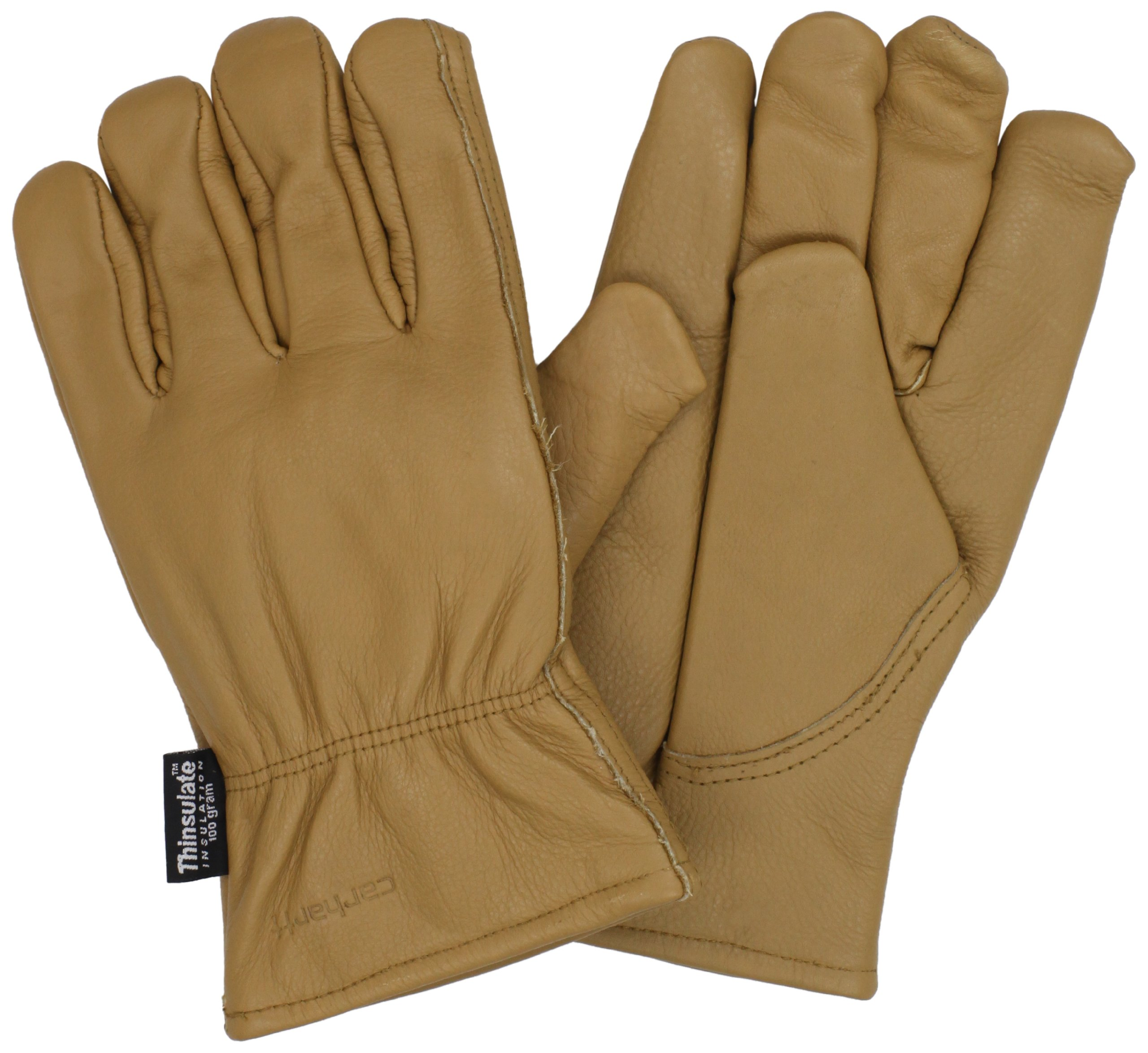 Carhartt Men's Insulated System 5 Driver Work Glove, Brown, Small